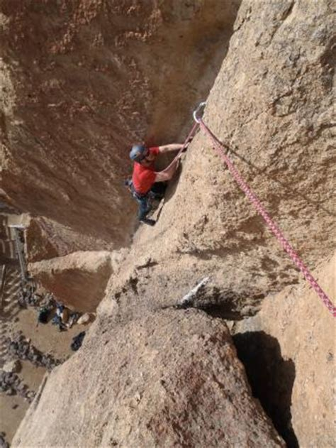 Smith Rock Climbing School Day Tours Bend All