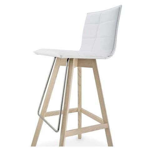 tabouret de bar schmidt tabouret snack design en bois et synth 233 tique iris 4 pieds tables chaises et tabourets
