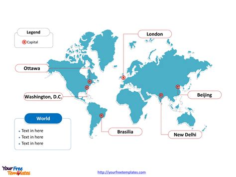 powerpoint map templates world map free powerpoint templates free powerpoint