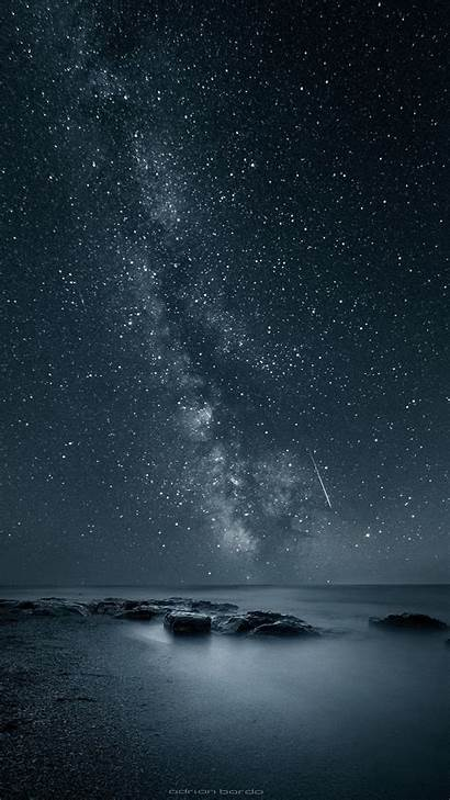 Night Sky Backgrounds Iphone Wallpapers Nature Apple