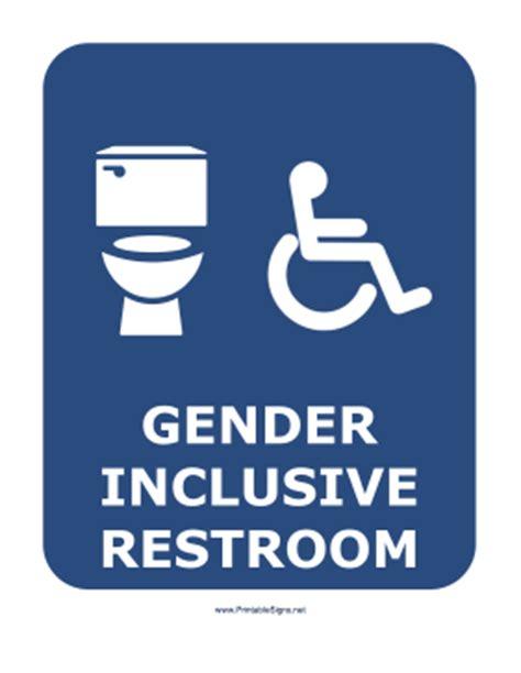 gender inclusive bathroom sign printable gender inclusive restroom sign