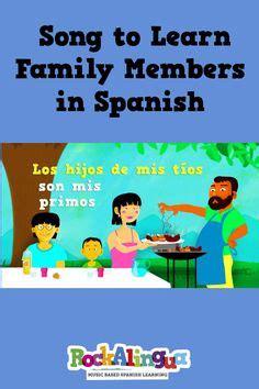 spanish familia unit images spanish class