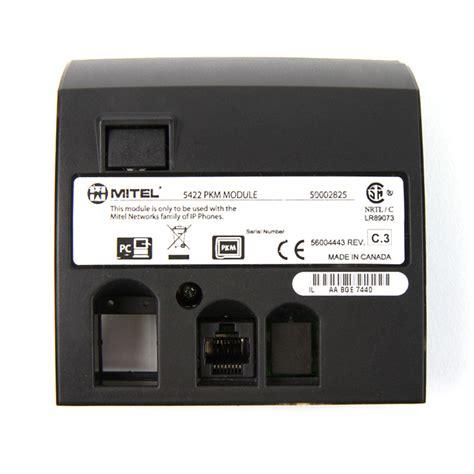 Mitel 5448 pkm programmable key module color (blk). Mitel 5422 PKM Module - 50002825