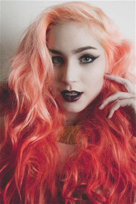 1000 Images About Watercolour Hair On Pinterest Bright