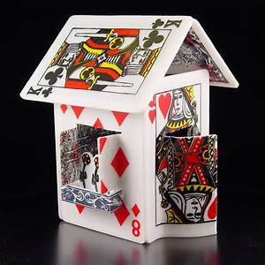 The House of Cards – Amazing Card Houses | Pix o' Plenty