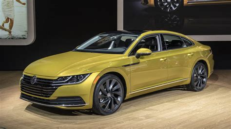 2019 Vw Arteon Fourdoor Coupe Revealed For Us Autoblog