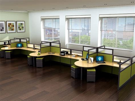 endless office cubicles modern echo office cubicles workstations echo