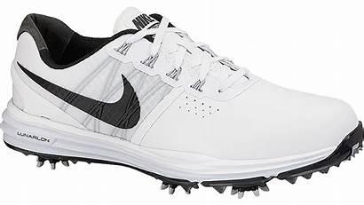 Nike Shoe Golf Lunar Control Wearing Pure