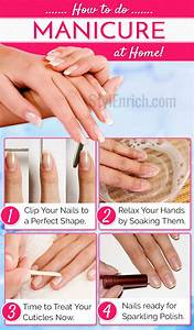 How To Do A Manicure At Home   Step By Step Guide