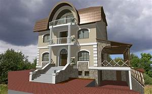 House wall elevation design modern