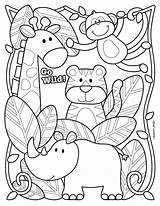 Zoo Coloring Printable Animal Animals Sheet Colouring Sheets Joseph Stephen Preschool Worksheet Worksheets Entrance Safari Animais Gambar Birthday Happy Binatang sketch template