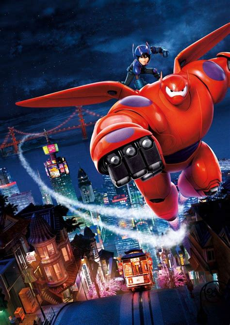 Disney Animation Wallpaper - disney pixar animation studios baymax big 6