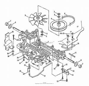 Snapper Lt160h42dbv 42 U0026quot  16 Hp Hydro Drive Tractor Series D Parts Diagram For Transmission Group