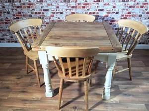 Rustic Wood Farmhouse and Industrial Dining Tables