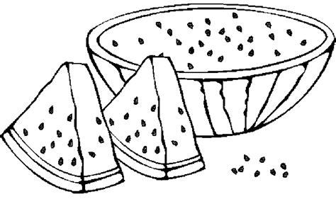 watermelon coloring pages  coloring pages  kids