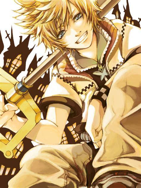 roxas kingdom hearts  days zerochan anime image board