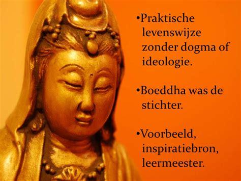 presentatie boeddhisme voorstelling