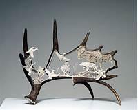 deer antler art Antler