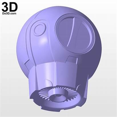 Manta Aquaman Armor Helmet Stl Do3d 3d