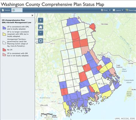 what is wccofg comp plan status the washington county council of governments