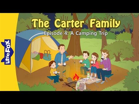 carter family   camping trip family