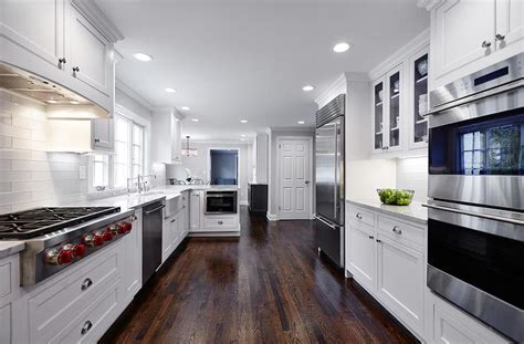 Beautiful White Kitchens Features White Kitchen Cabinets