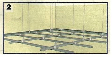 controsoffitto cartongesso struttura come realizzare un controsoffitto in cartongesso