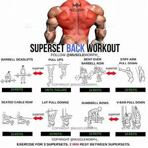 Superset Back Workout
