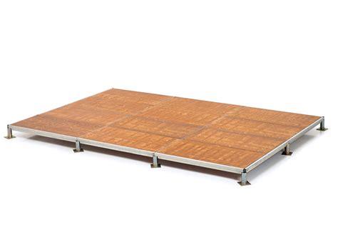 pedane per palchi pedane modulari in alluminio e per esterni mario orlando