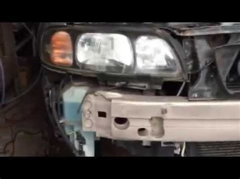 volvo  front stossstange scheinwerfer wischermotor