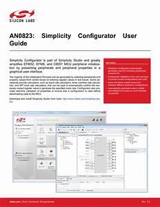 An0823  Simplicity Configurator User U0026 39 S Guide
