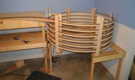 model train table kit n gauge steam locomotives ho train helix plans