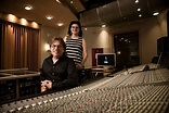 Concentrated creativity: Zoe and Pat Thrall hold it down ...