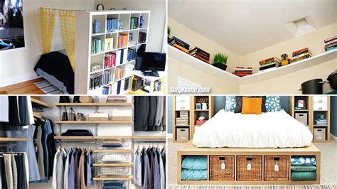 Small Bedroom Storage Ideas by 10 Diy Small Bedroom Storage Ideas Simphome