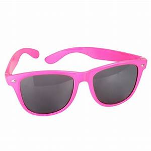 80's Neon Pink Sunglasses -Creative Costumes