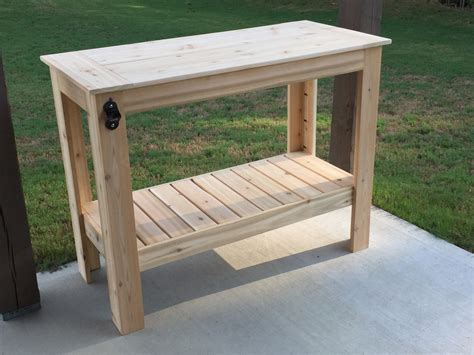 grilling table andrew harris woodwork