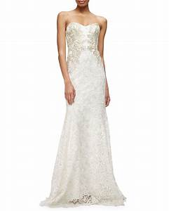 lace marchesa and mermaids on pinterest With neiman marcus dresses for weddings