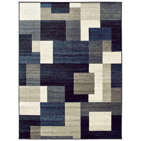 light blue rug orren ellis taira block blue gray area rug reviews wayfair