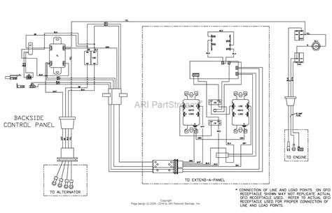 Lifier Wiring Diagram With Capacitor by Portable Generator Wiring Schematic Engine Wiring