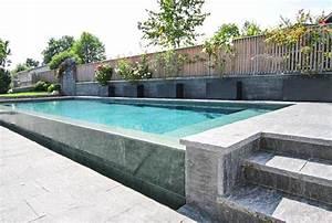 Was Ist Ein Infinity Pool : natursteinpool schwimmbad egli gartenbau ag uster ~ Markanthonyermac.com Haus und Dekorationen