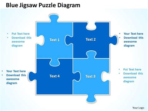 jigsaw puzzle template powerpoint yasncinfo