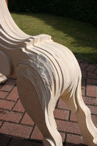 making  laminated rocking horse odds  ends wood