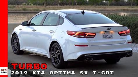 Kia Optima Sx T Gdi by 2019 Kia Optima Sx T Gdi Turbo