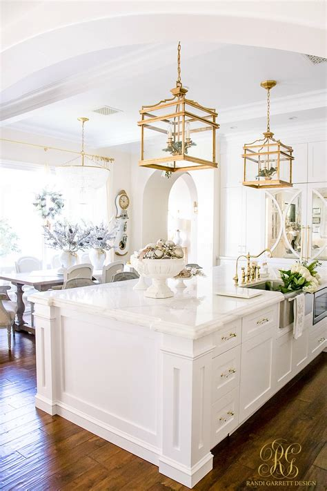 Amazing Kitchen Design With Touches Of Gold by Home Tour 2017 Silver And Gold