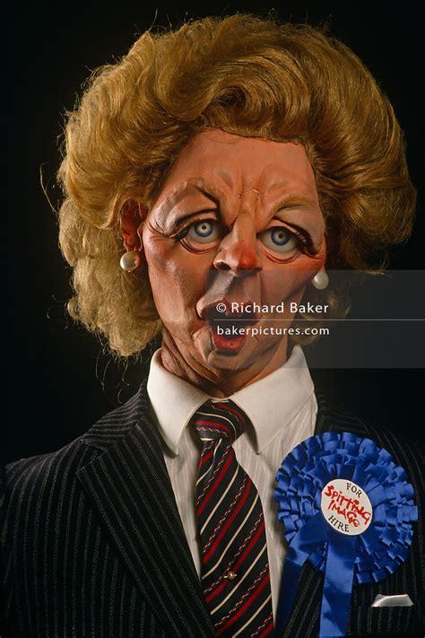 england london margaret thatchers spitting image