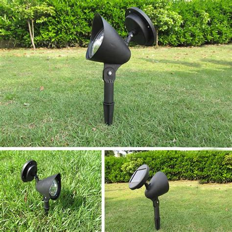 led solar garden light ls spotlight l light outdoor