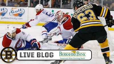 Bruins-Canadiens Live: B's Roll To 4-2 Win In Game 5; Take ...