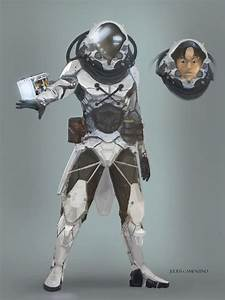 Futuristic Space Suit Concept Art (page 4) - Pics about space