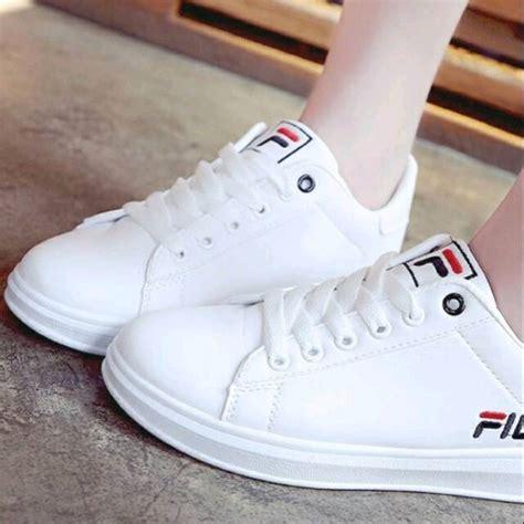 Sepatu Fila Casual jual sepatu kets casual sneaker fila putih murah di lapak