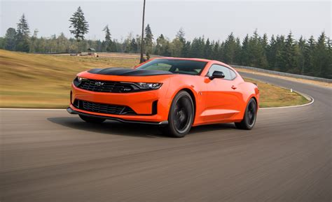 The 2019 Chevrolet Camaro Turbo 1LE Sharpens the Four ...